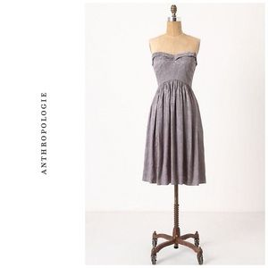 Anthropologie Brocade Bovary dress